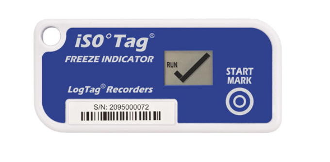 TICT iS0°Tag® FREEZE TEMPERATURE INDICATOR